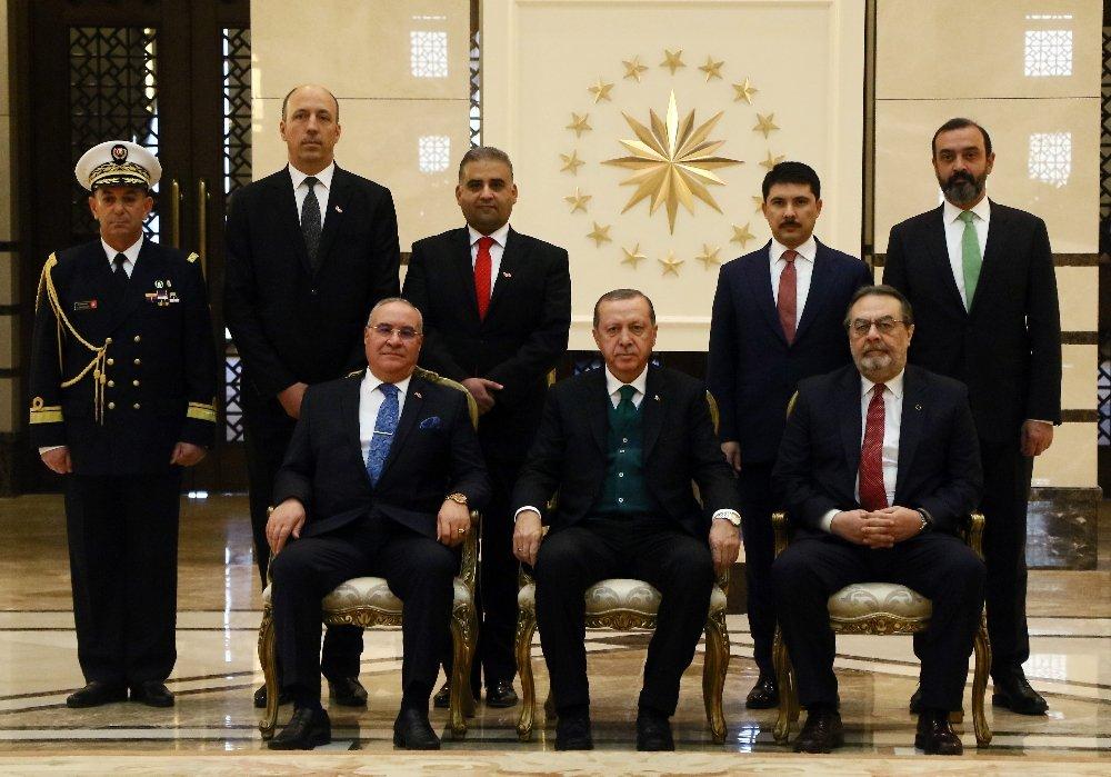 Erdoğan Tunus Büyükelçisini Kabul Etti