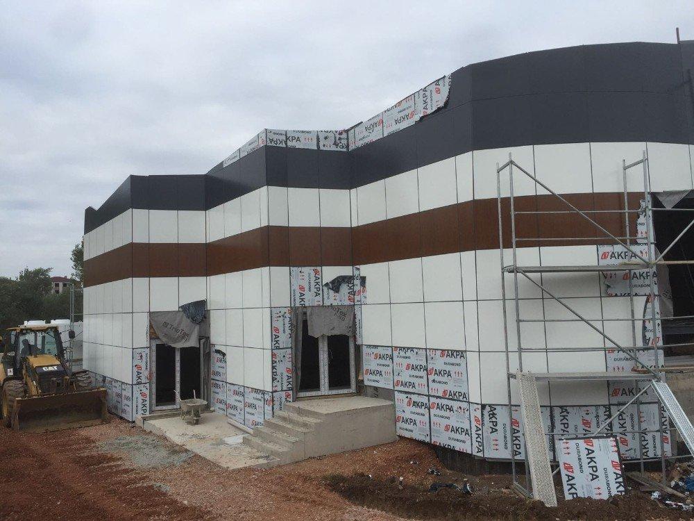 Aslanbey Kültür Merkezi Tamamlanıyor