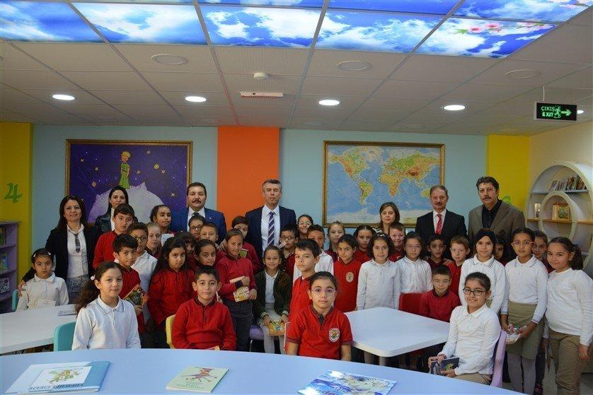 Şehit Hamdi Bey İlkokulu Z Kütüphane Açılışı