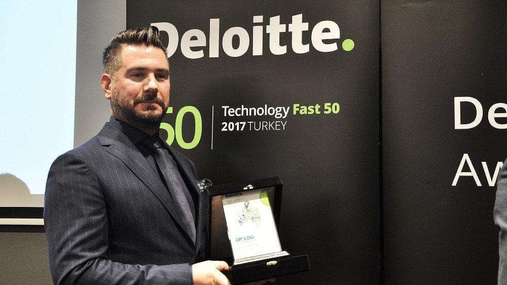 Oplog, Deloitte Technology Fast50 Listesinde Birinci Sırada