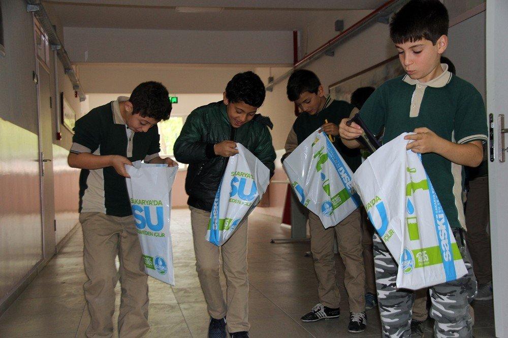 Saski Öğrencilere Yönelik Bilinçli Su Kullanımı Eğitimlerini Sürdürüyor