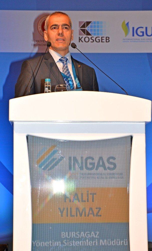 Bursagaz 'Ingas 2017'ye Sunumlarıyla Değer Kattı