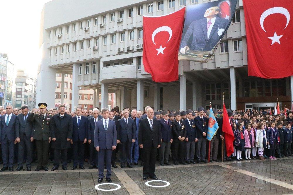 Maden İşçileri Atatürk'ü Andı