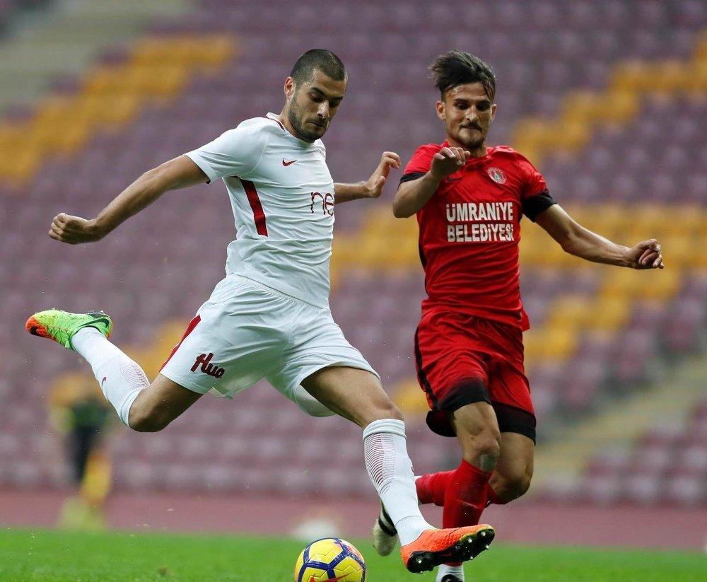 Galatasaray Ümraniyespor'u 3-2 Mağlup Etti