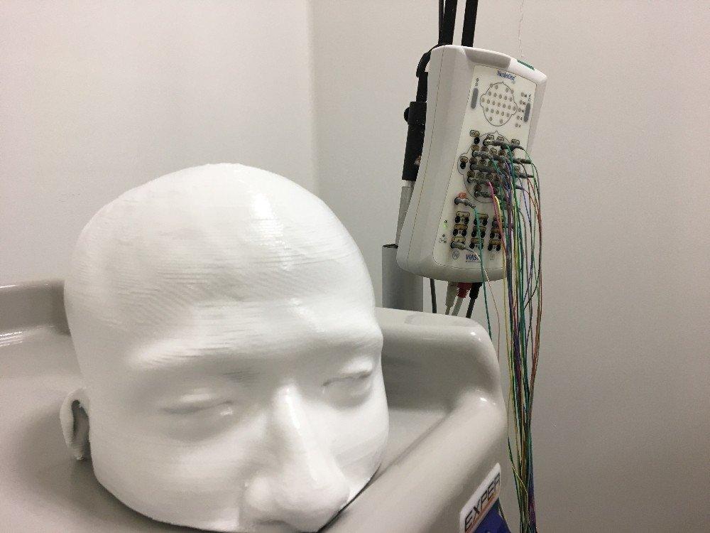 Üç Boyutlu Yazıcı İle İnsan Kafatası Modeli Bastılar
