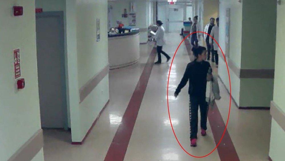 Hırsızın Fotoğrafları Hastane Koridorlarına Asıldı