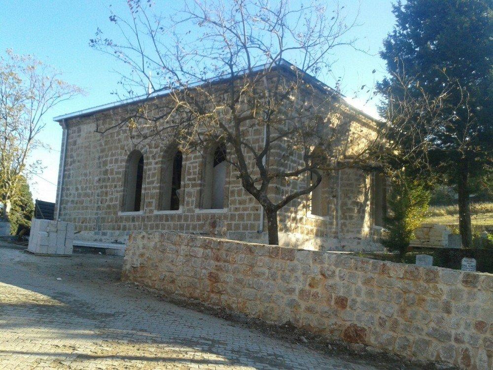 """""""Tarihi Tepecik Camii Şekilleniyor"""