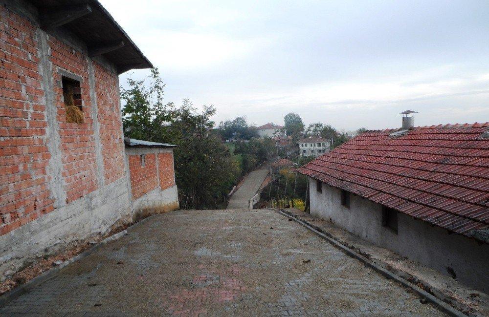 Süleymaniye Köyü Sokaklarına Parke Döşendi