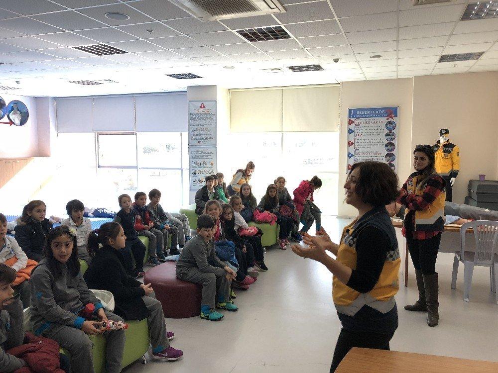 Teknoloji Fen Okulları Afet Eğitim Merkezi'nde