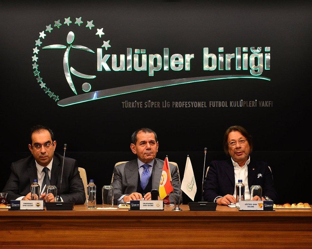Kulüpler Birliği Toplantısı Başladı