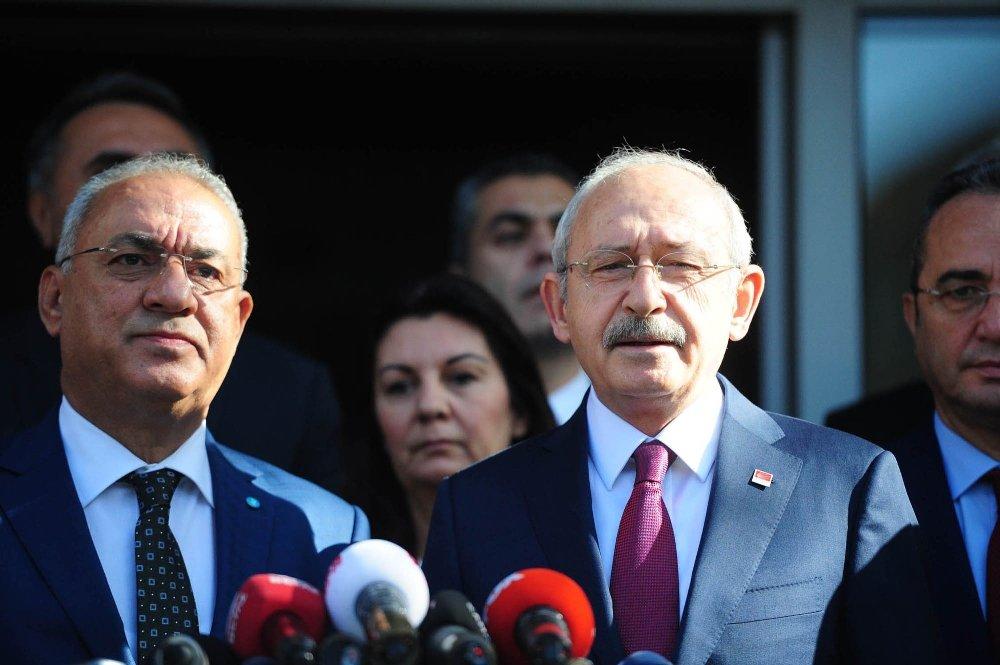 Kılıçdaroğlu'ndan Dsp'ye Ziyaret