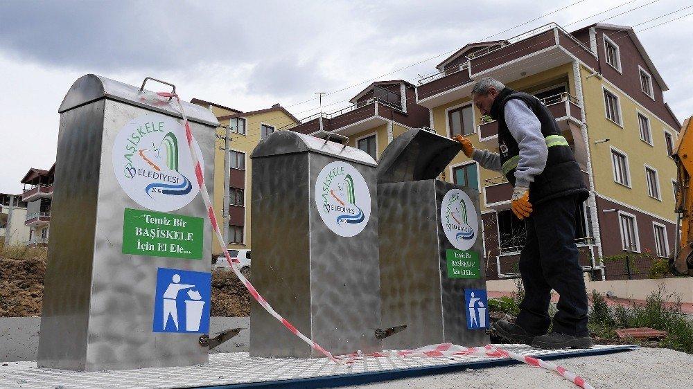 Başiskele'de Çöpler Yer Altına İniyor
