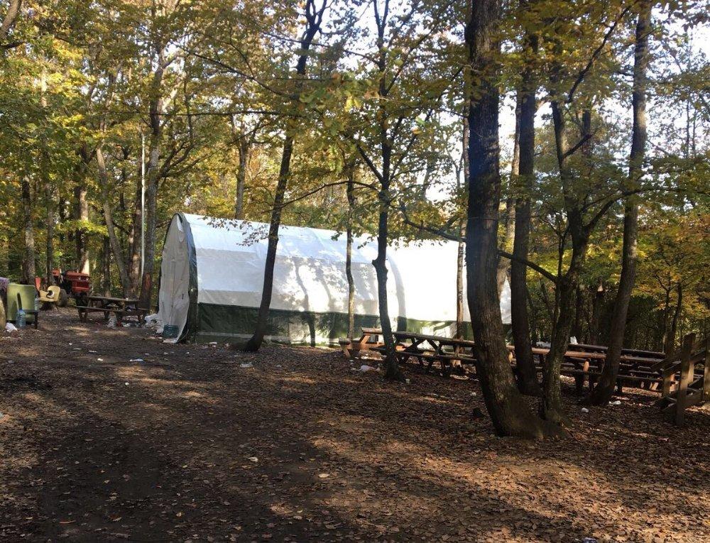 Kamp Çadırı Değil Kumar Çadırı