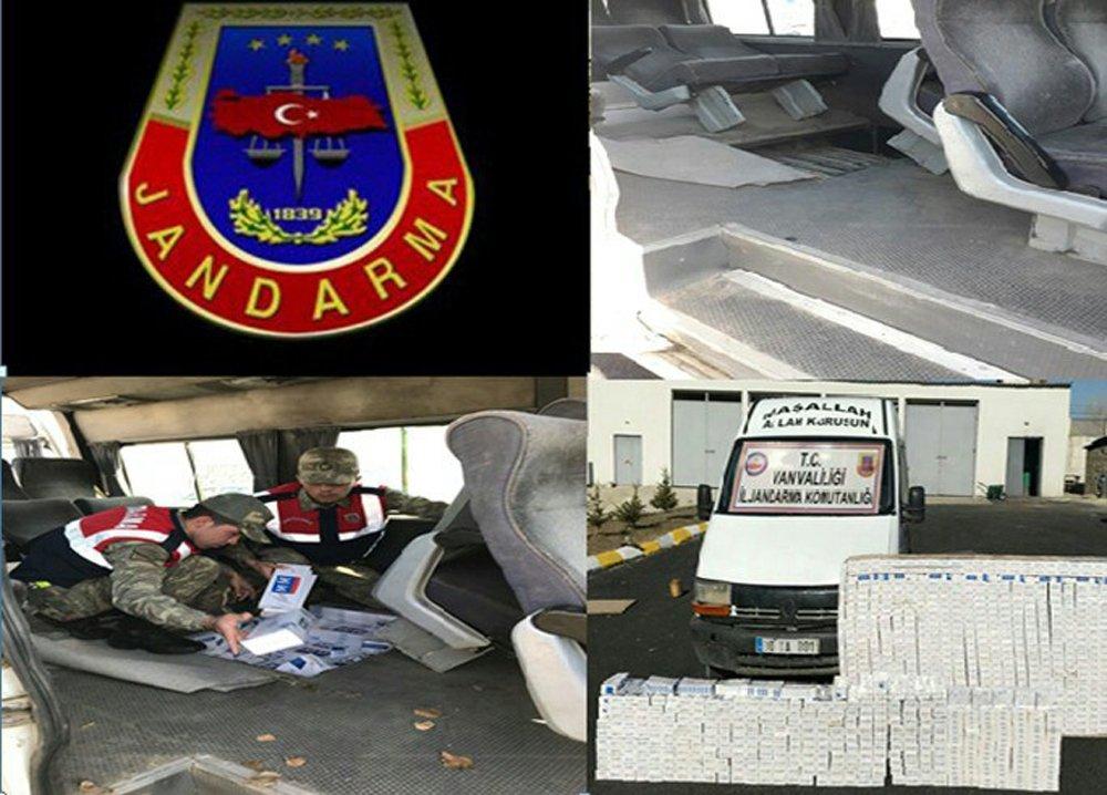3 Ayrı Operasyonda 21 Bin Paket Kaçak Sigara Ele Geçirildi