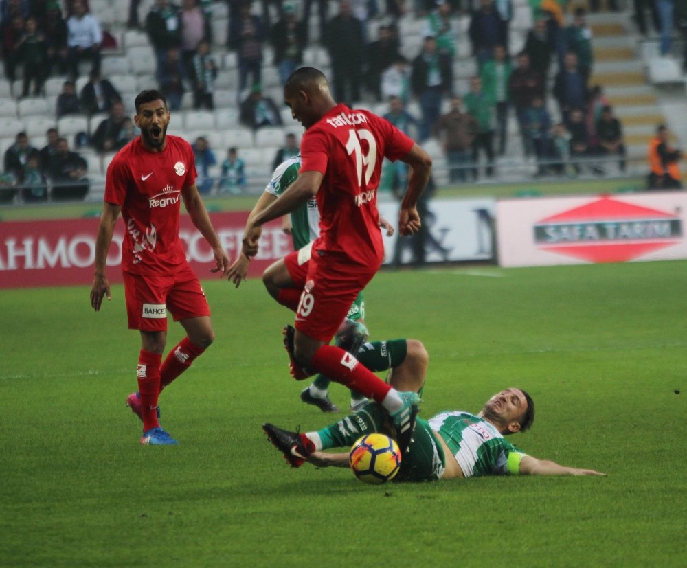 Konya'da Gol Sesi Çıkmadı