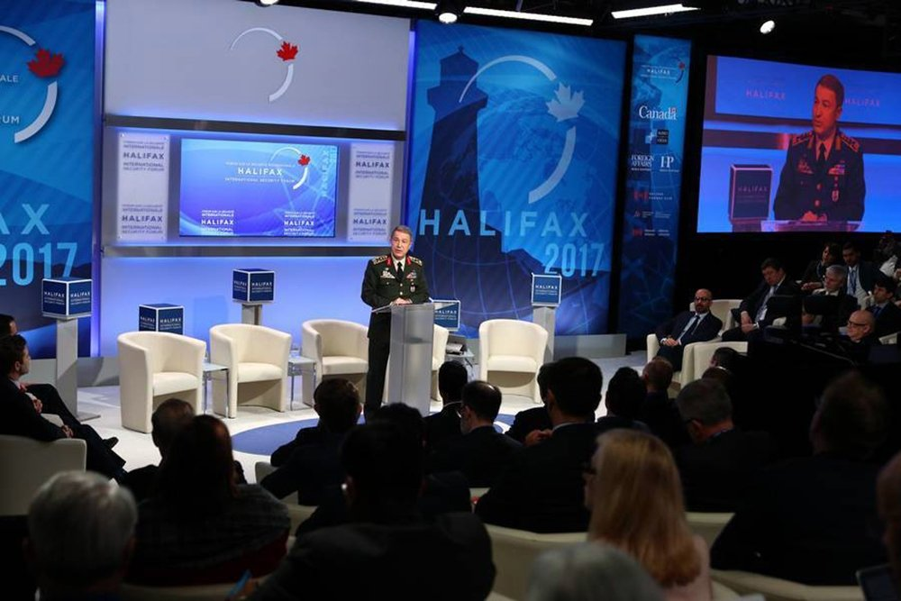 Akar, 'Halifax Uluslararası Güvenlik Forumu'na Katıldı