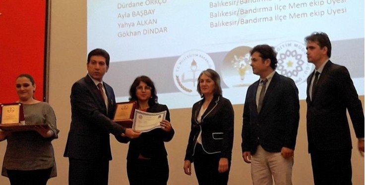 Milli Eğitim'e İki Ödül Birden