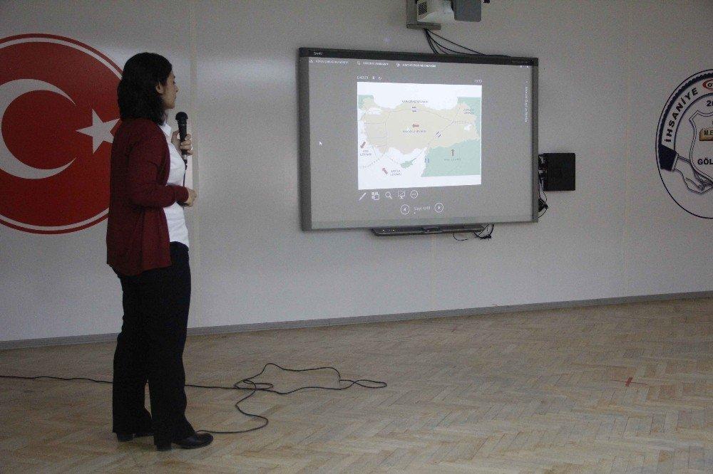 Kocaeli'de Okullarda Deprem Eğitimi Veriliyor