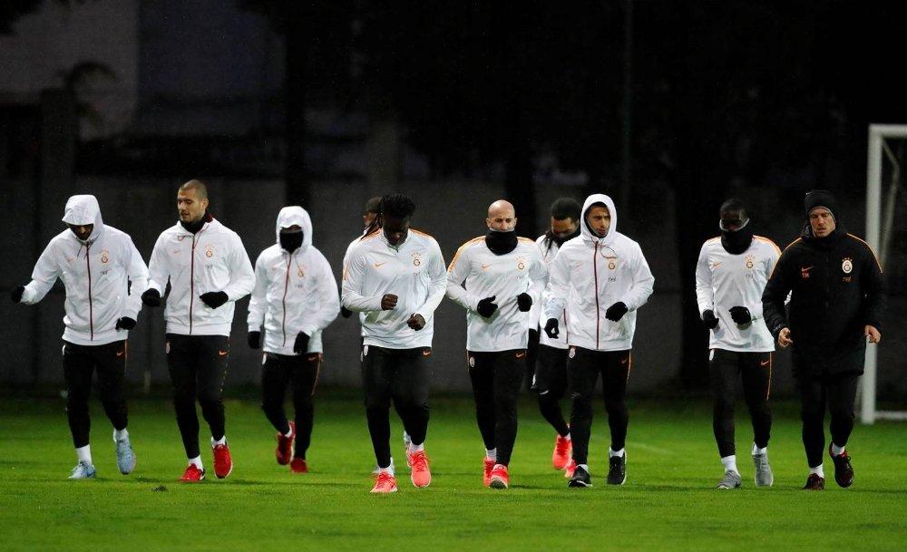 Galatasaray'da Alanyaspor Mesaisi Başladı