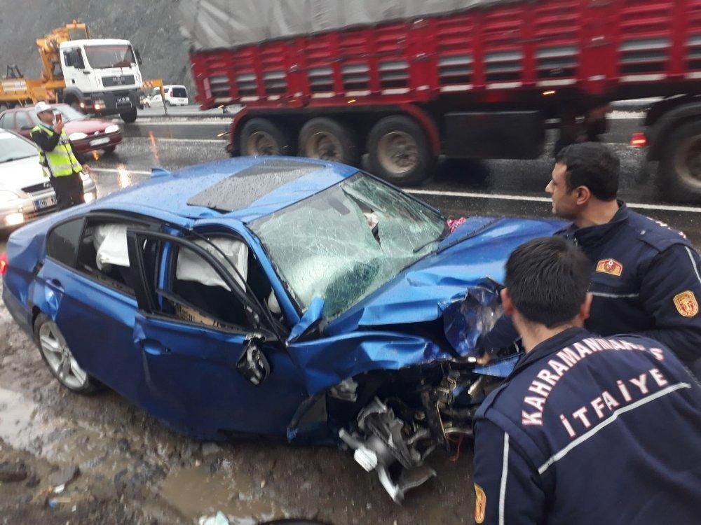Kahramanmaraş'ta Feci Kaza: 1 Ölü, 3 Yaralı