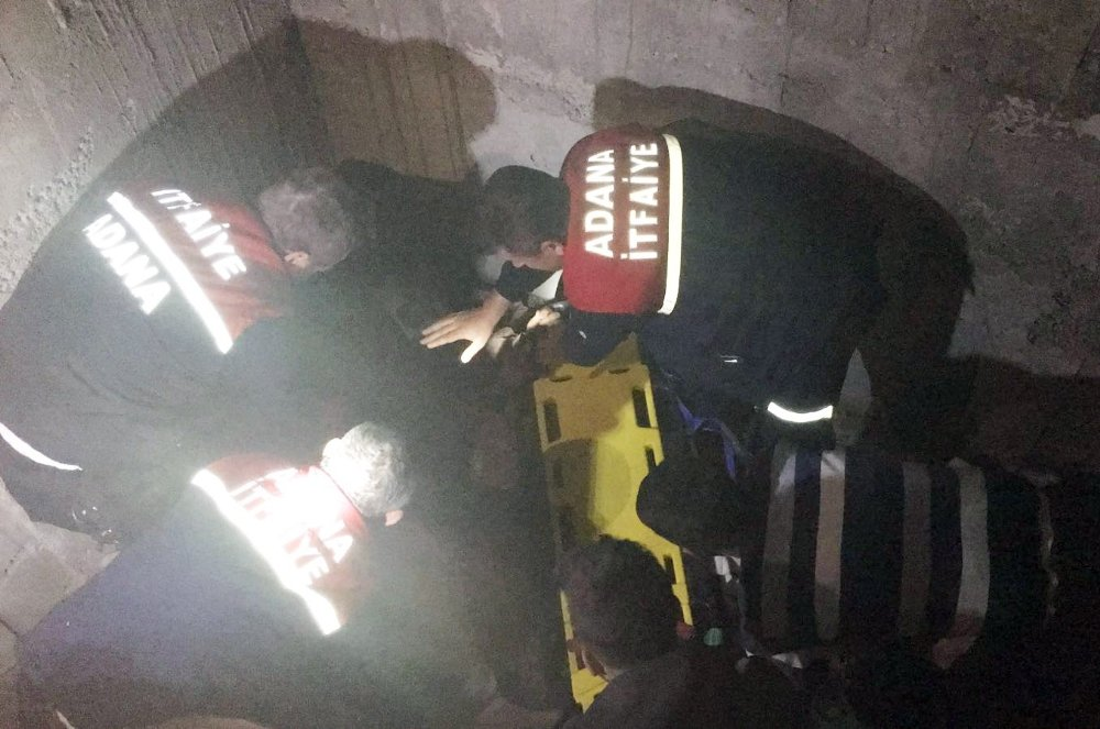 İnşaatı Geziyordu Asansör Boşluğuna Düştü