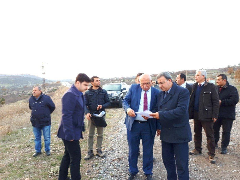Dursunbey Osb'ye 2.5 Km'lik Demiryolu Hattı