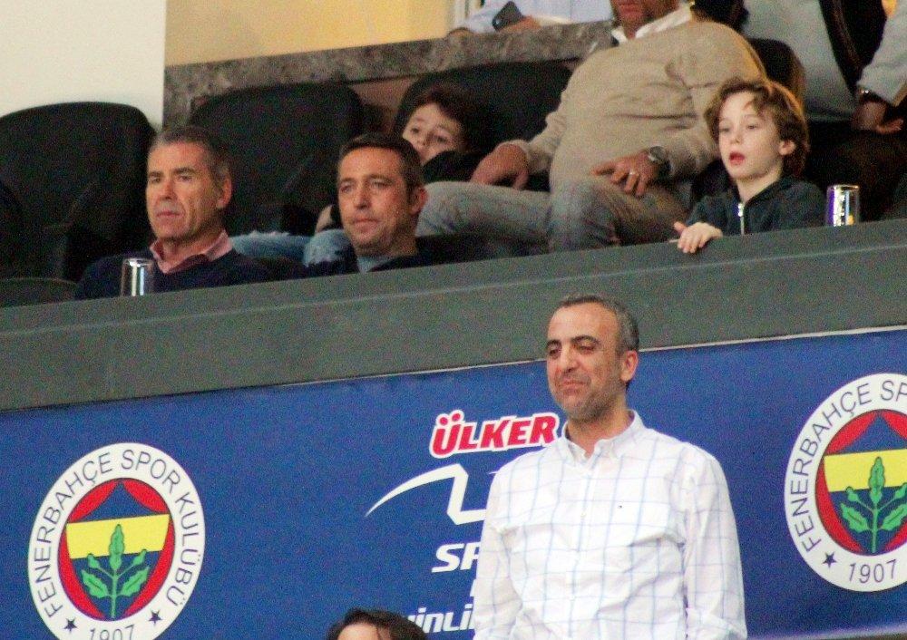 Ali Koç Fenerbahçe Doğuş - Khimki Moscow Maçında