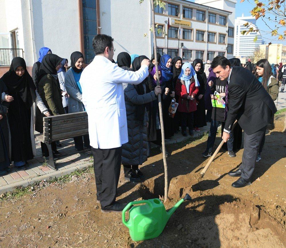 Osmangazi'den Öğretmenler İçin Fidan