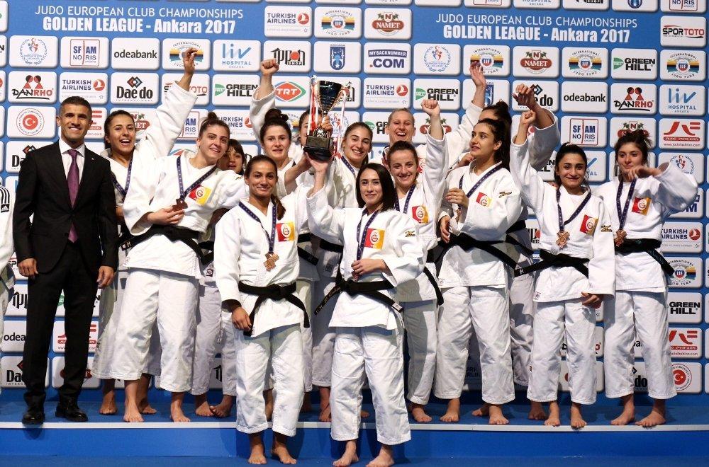 Galatasaray Judo'da Avrupa Üçüncüsü