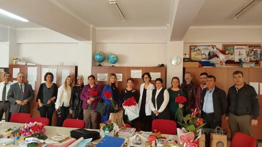 Başkan Altınok'tan Öğretmenlere Ziyaret