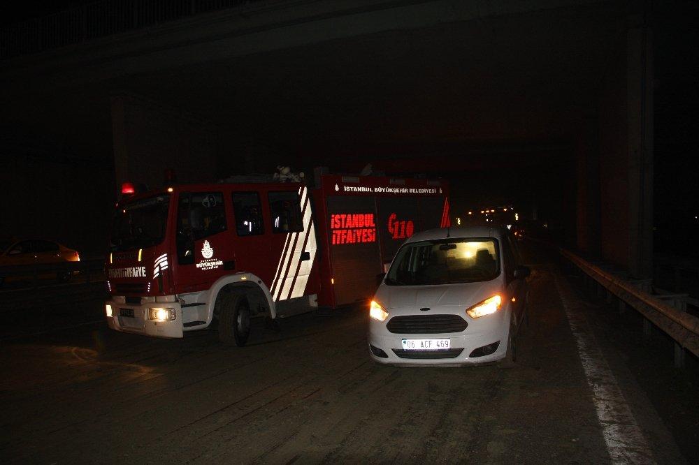 Basın Ekspres'te Zincirleme Kaza: Tam 9 Araç Karıştı