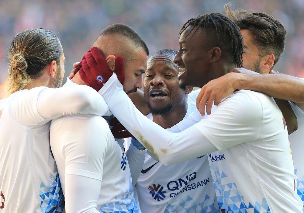 Trabzonspor Sivas'ta Kazandı