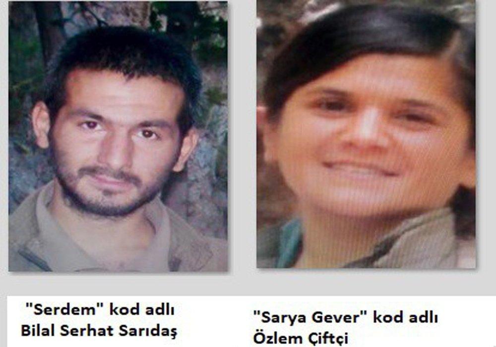 İşte Öldürülen O Teröristler!