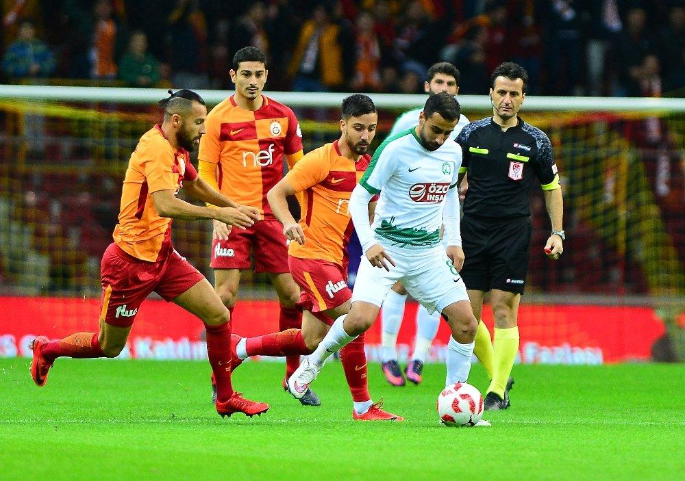 İlk 25 Dakikada Galatasaray Üstün