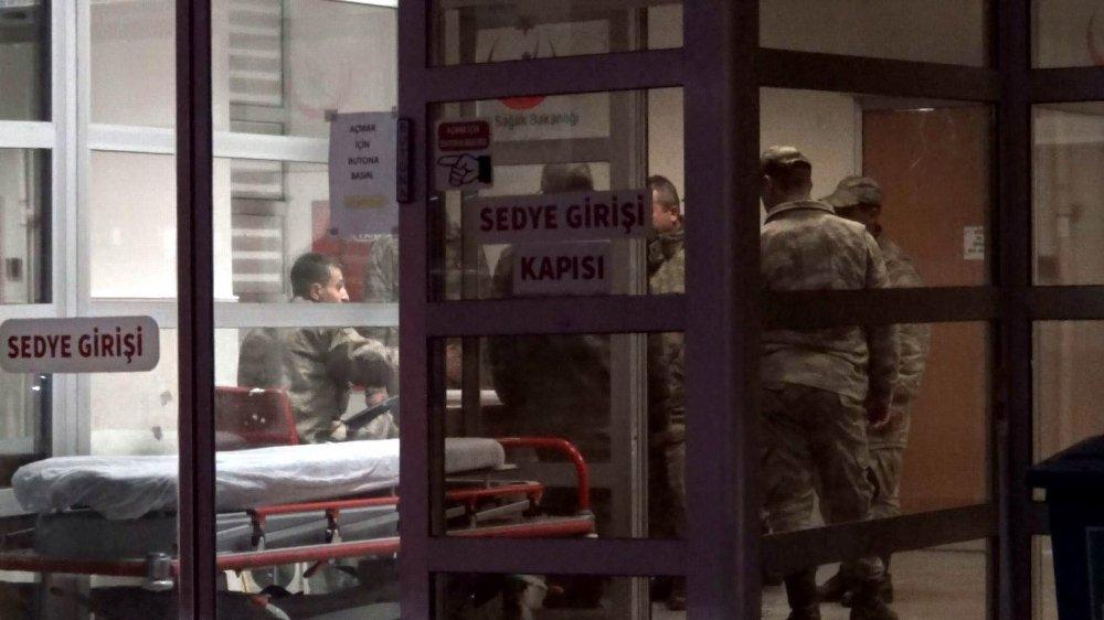 Suriye'den Sınır Karakoluna Taciz Ateşi: 1 Asker Yaralı