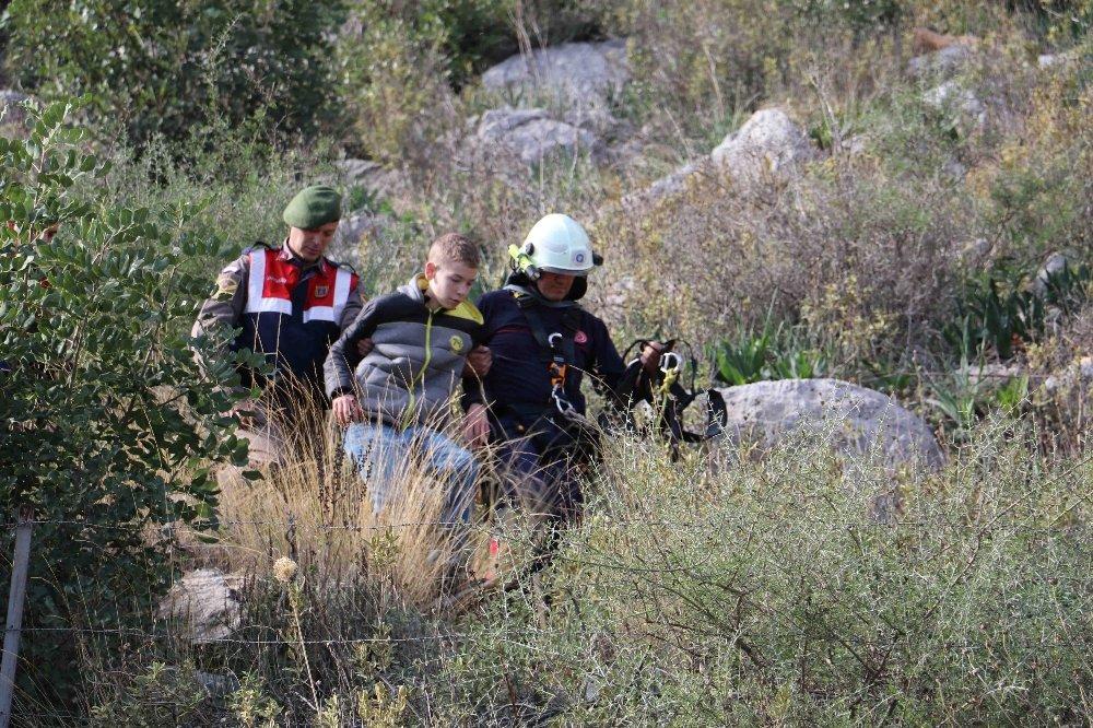 Dağda Mahsur Kalan Rus Çocuklar Operasyonla Kurtarıldı