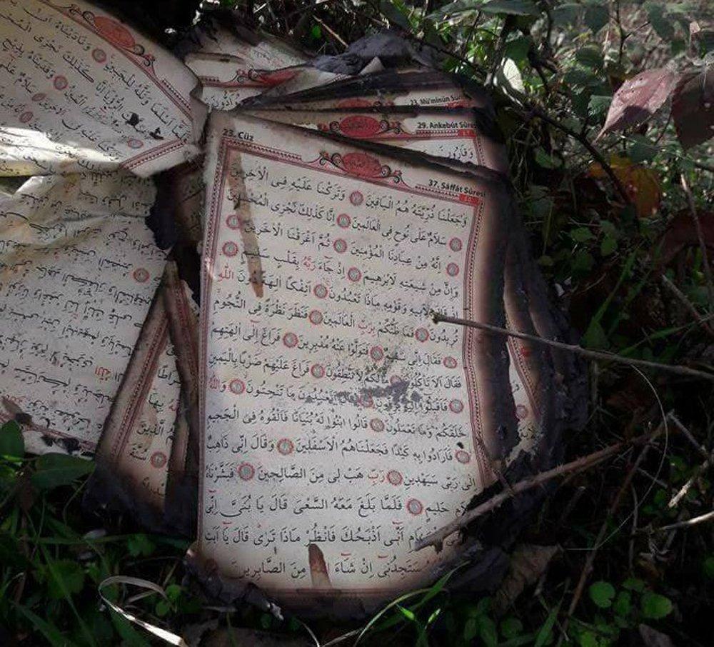 Cami Yangınında Her Şey Yandı, Kur'an-ı Kerim Yanmadı