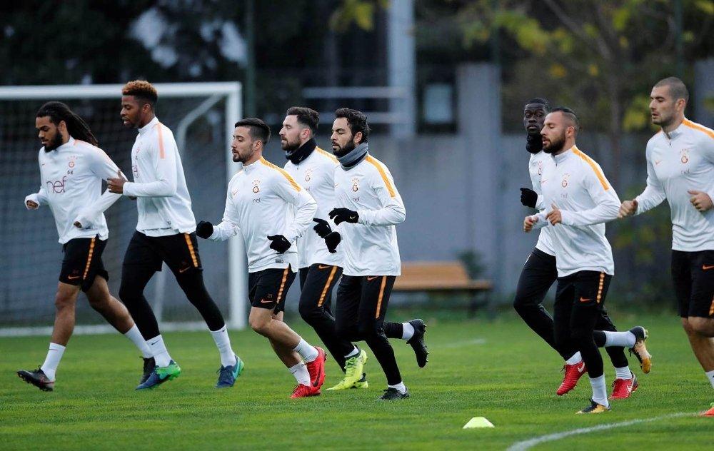 Galatasaray'ın Derbi Mesaisi Sürdü