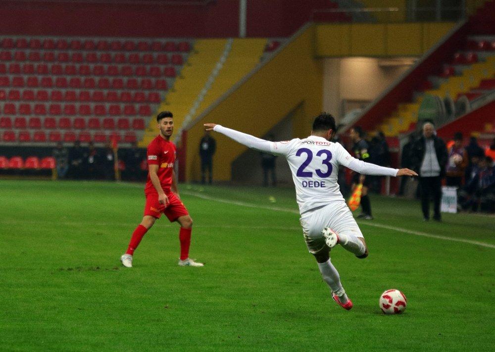 Kayserispor, Eyüpspor'u Mağlup Etti
