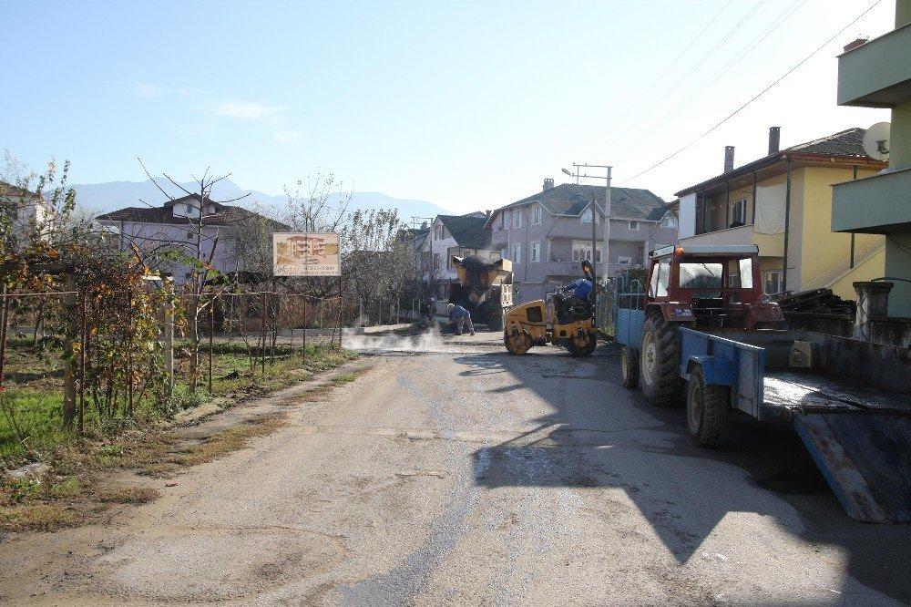Yeni Mahalle'de Asfalt Çalışmaları Devam Ediyor