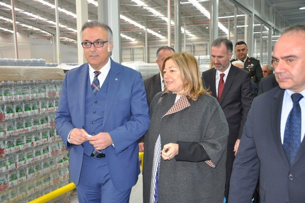 Pınar Su Uludağ Tesisi Açıldı