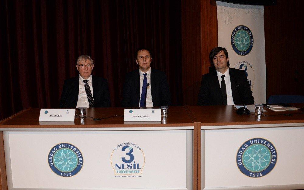 Ulaşımda Yerli Ve Milli Sistemler Uludağ Üniversitesi'nde Tartışıldı