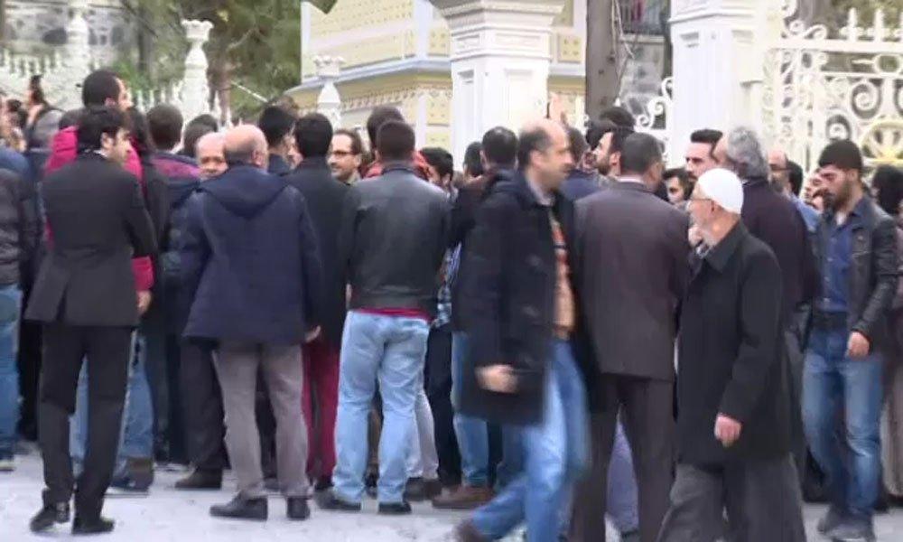 Erdoğan Cuma Namazını Yıldız Hamidiye Camii'nde Kıldı