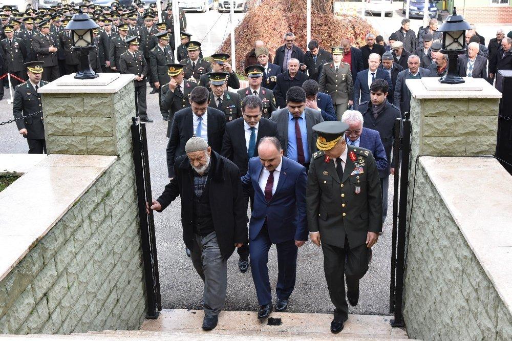 Naaşı Bulunamayan Şehide 23 Yıl Sonra Temsili Mezar
