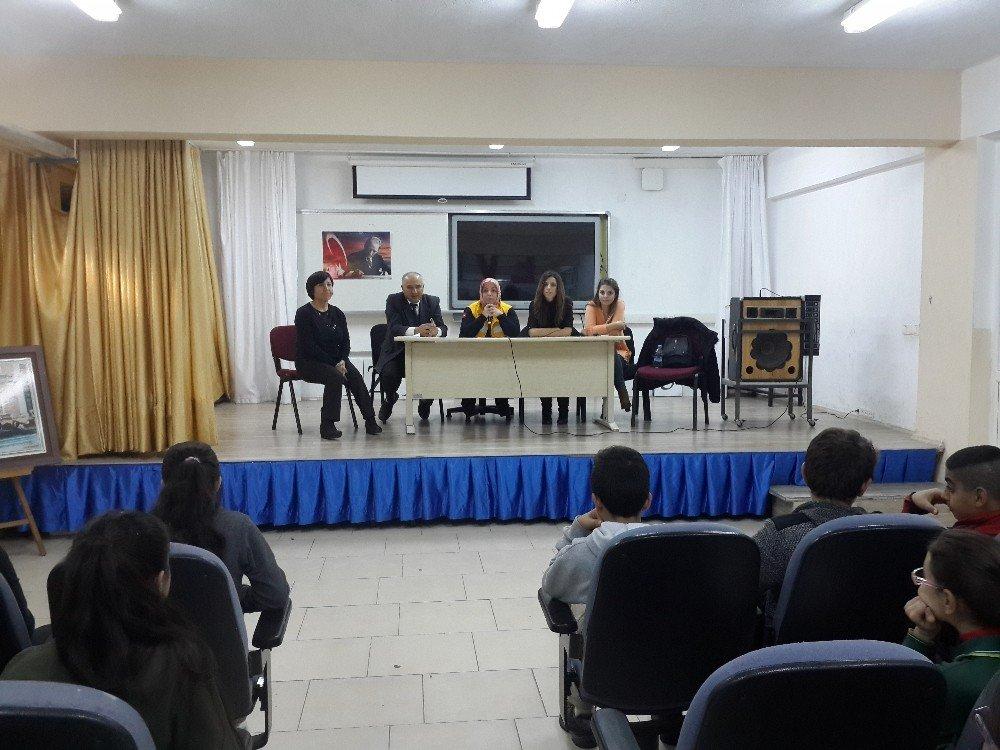 Öğrencilere Meslek Tanıtımı Yapıldı