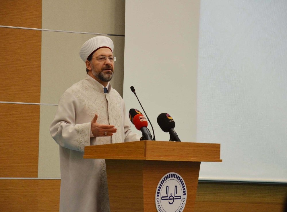 Diyanet İşleri Başkanı Erbaş, Din Görevlileriyle Buluştu
