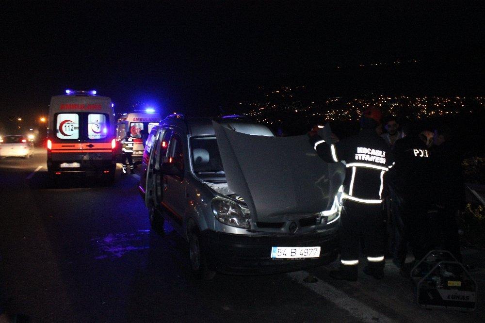 Tem'de Kaza:6 Yaralı