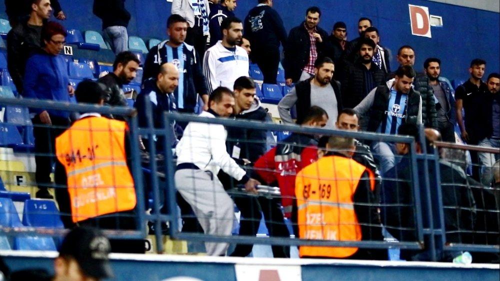 Maç Sonu Arbedede 1 Kişi Yaralandı