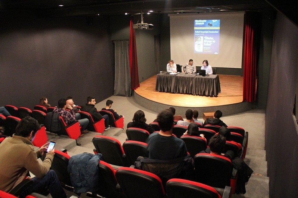 Cüneyt Kaşeler Ve Ilgaz Çınar 'Futbol Sosyoloji Seminerleri'nin Konuğu Oldu