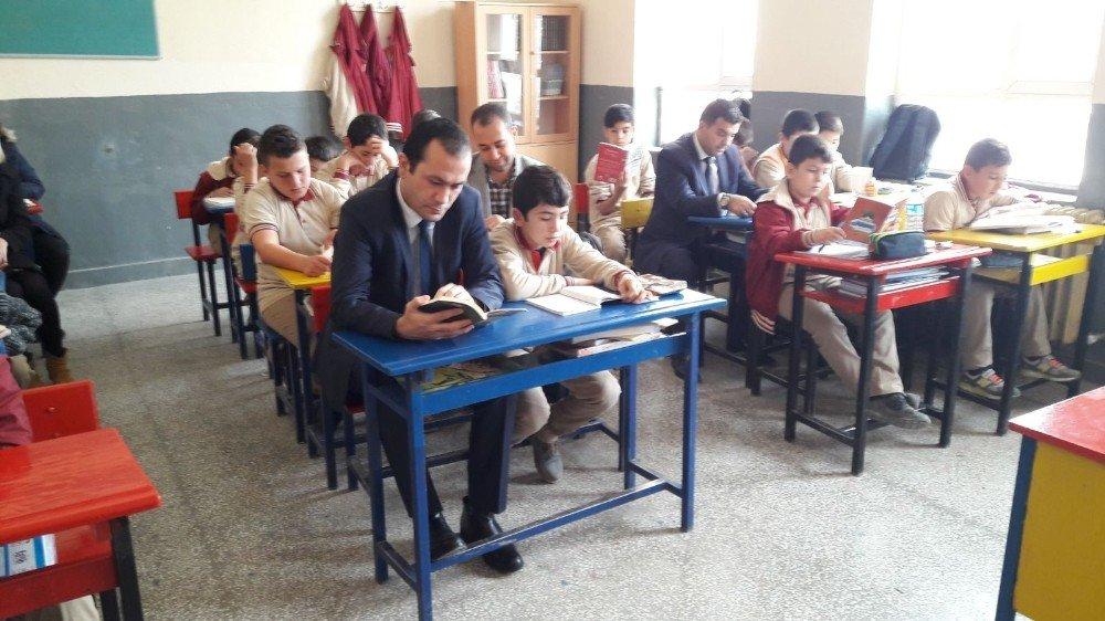 Balya'da Eğitime Kaymakam Desteği